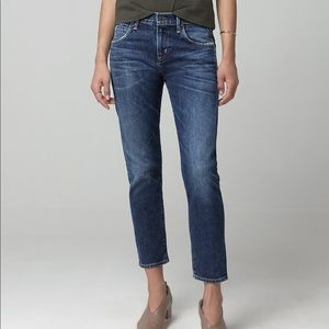 Citizens of Humanity Jeans Elsa Mid Rise Crop Slim